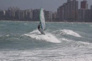 Funboard Vicente 2011 con SeaSurf Patrol Windsurfing escuela