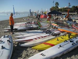 Surfari 2011 Raceboard con SeaSurf Patrol windsurfing escuela