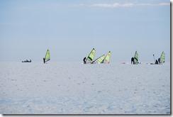 """Debutants en Planche à Voile avec""""SeaSurf Patrol"""" Windsurfing Escuela"""