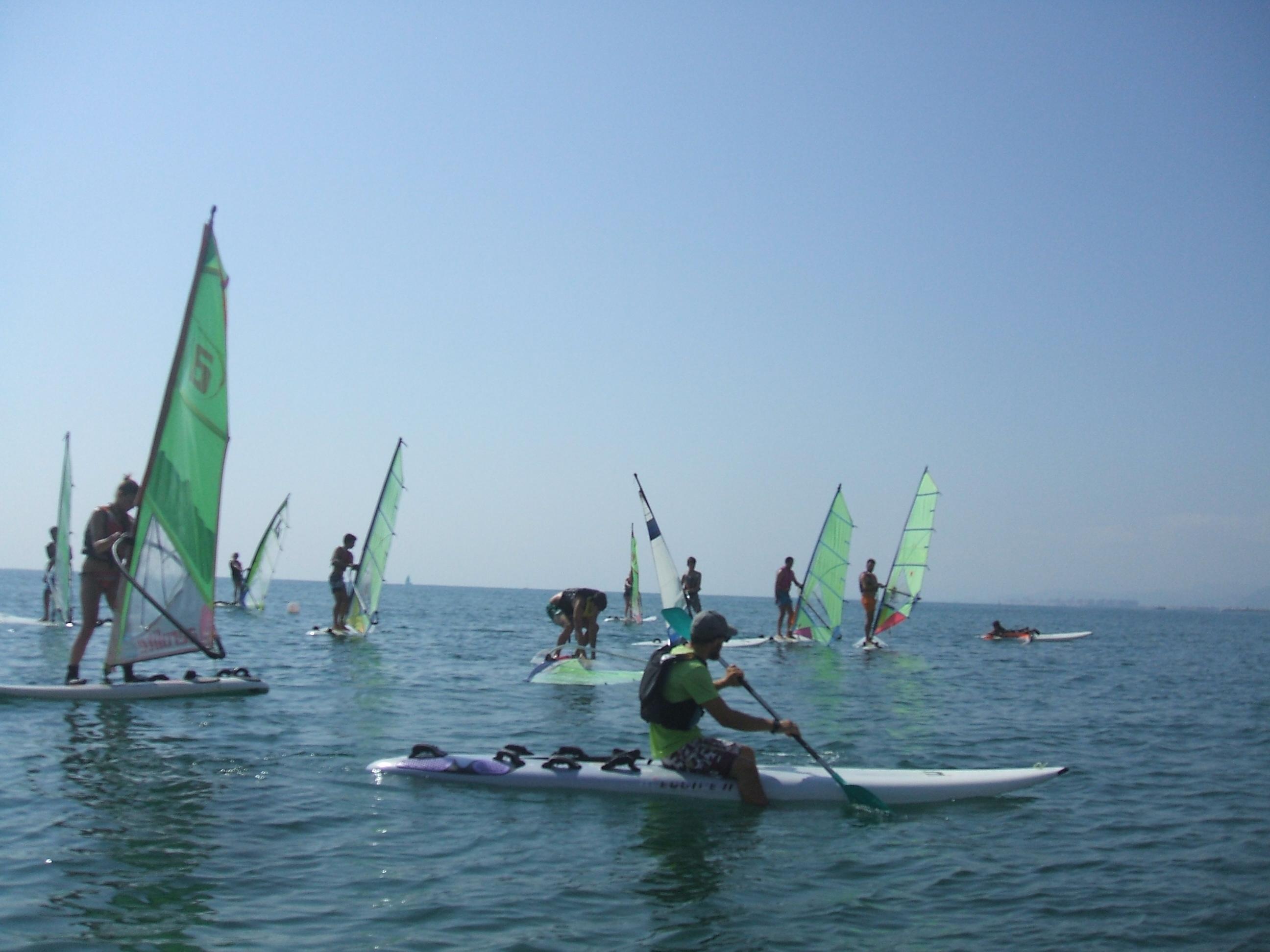 Clase de Windsurf, cullera, actividades náuticas